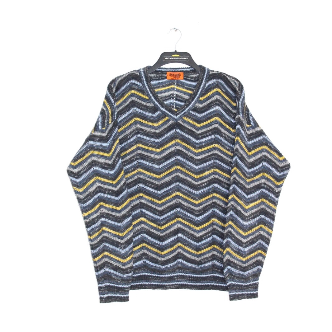competitive price 2caff 49e85 VINTAGE MISSONI UOMO ABSTRACT PATTERN KNITTED ...