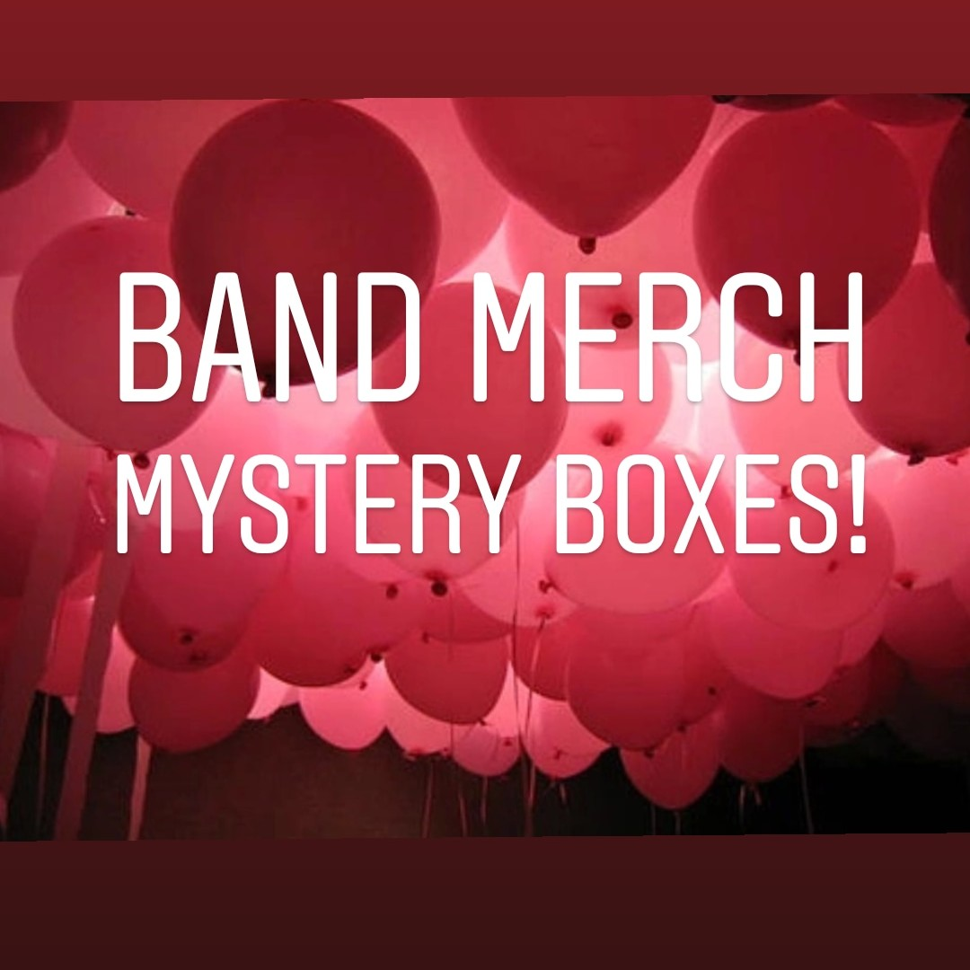 e8f6fbf31c6c1 Band merch mystery boxes! PM ME TO PURCHASE ❤️Let me... - Depop