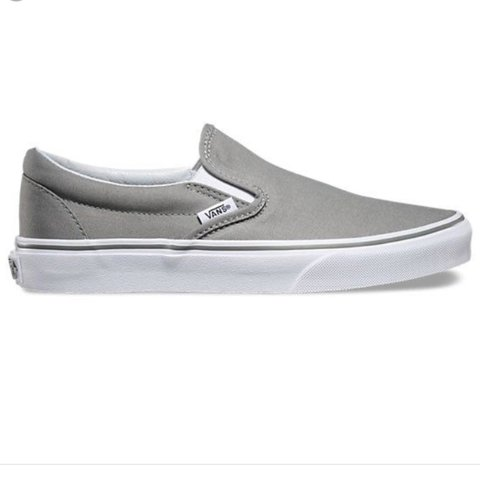 a33f4e9260 Hardly worn light grey vans American apparel topshop Zara - Depop