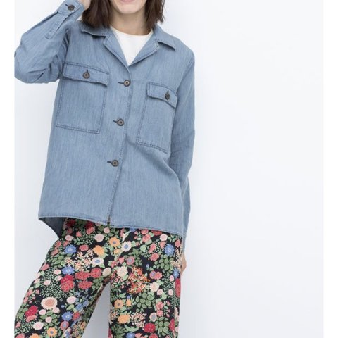 f9385698c2 Zara denim overshirt