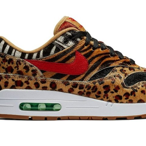 ba05d3c5db @007james88. last year. Kings Langley, UK. Nike Air Max 1 Atmos DLX Animal  Pack 2.0 ...