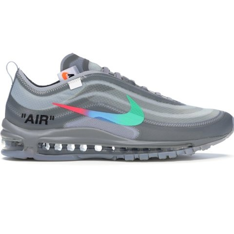 Virgil Abloh Off White x Nike Air Max 97 in Wolf Grey