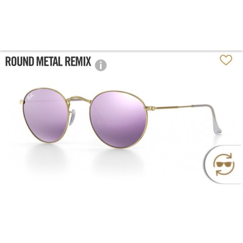 92df387605 ... discount code for ray ban metal round remix in lilac rayban toronto  depop 4c5b6 1ae89 ...