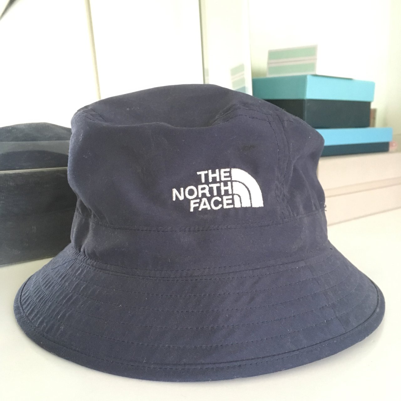The North Face Bucket Hat HARDLY WORN  the  north  face - Depop 69d6c2cb5d6