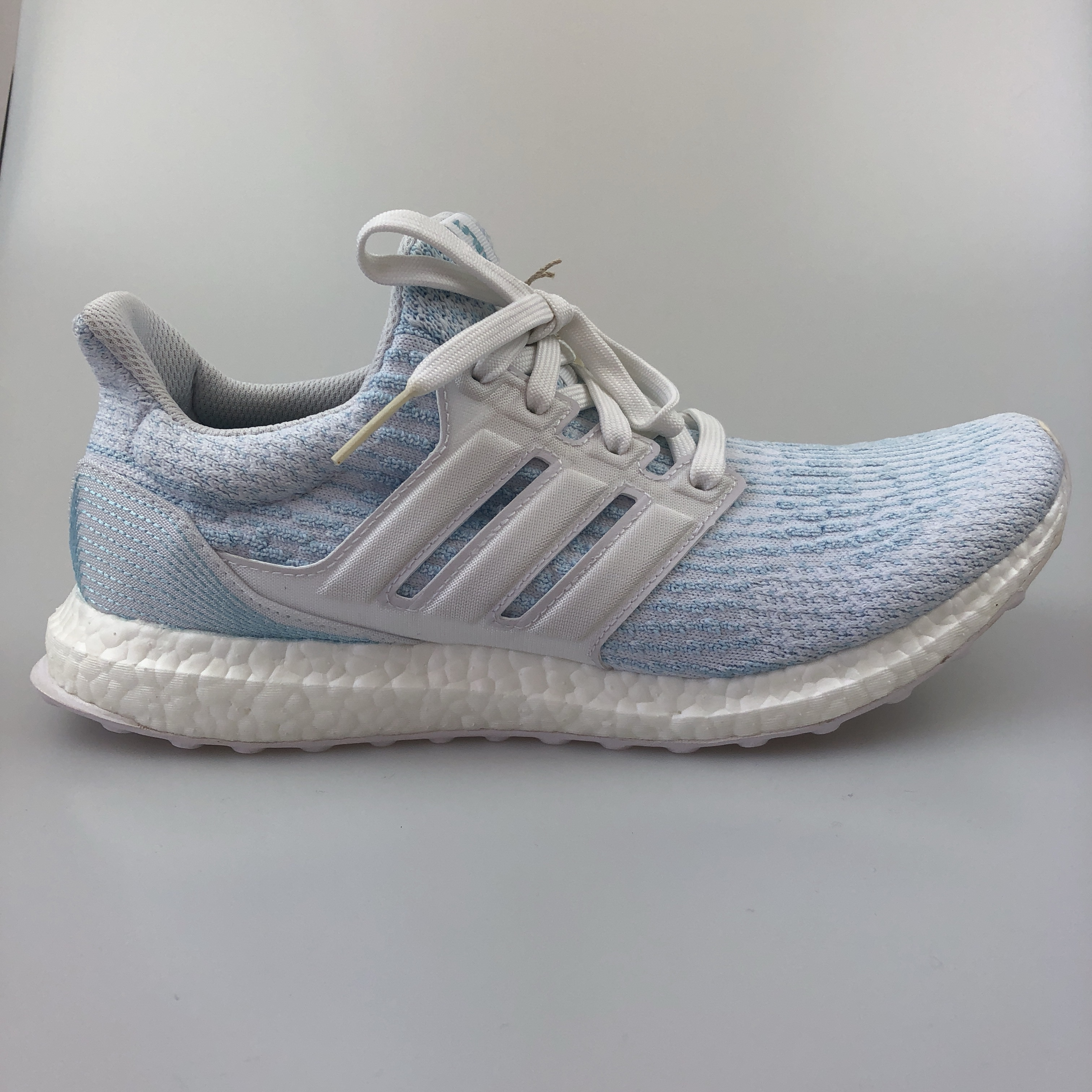 best service 1d205 88596 Adidas Ultra Boost 3.0 Parley: White/ Icey Blue (UK... - Depop