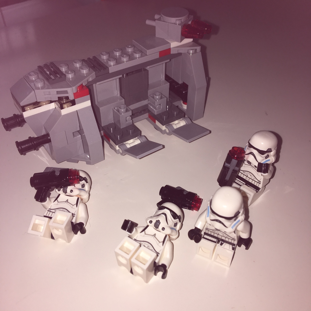 Star Wars Lego Set There Is 4 Stormtroopers And A Depop