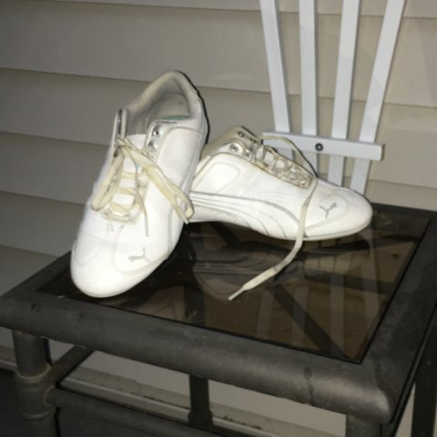 Puma cheer shoes , only worn for one