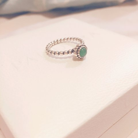 f703a5cab @sophierowleyxx. 4 years ago. Ruislip, Greater London, UK. Pandora August  birthstone ring with box ...