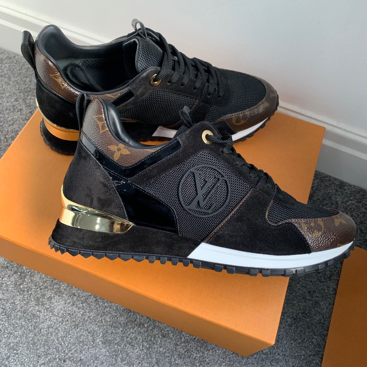 ed599b63 Women's Louis Vuitton Runaway Trainers, absolutely... - Depop
