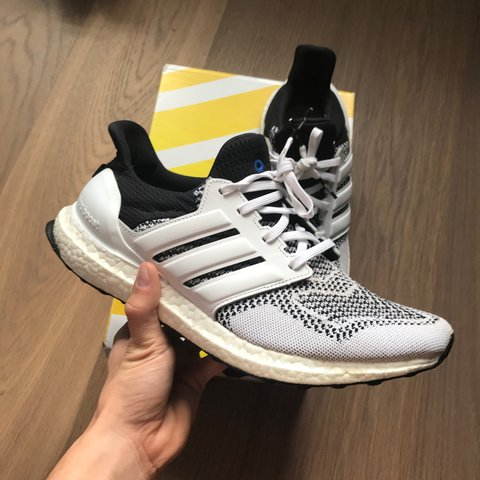 ea1fb7d0d8cc7 Adidas Ultra Boost 1.0 x Sns  Tee Time  vnds condition with - Depop