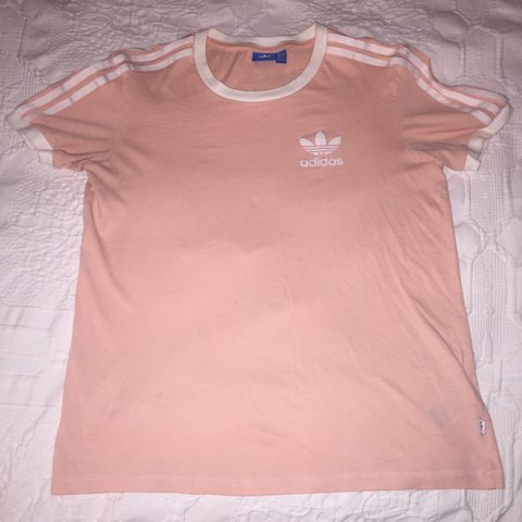 ee6ff1efdb9df4 PROVISIONALLY SOLD Light pink ladies ADIDAS top
