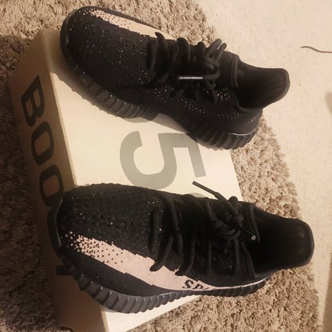 b7daf1f1d YEEZY BOOST 350 SIZE 5 UK 100% Authentic Selling for than - Depop