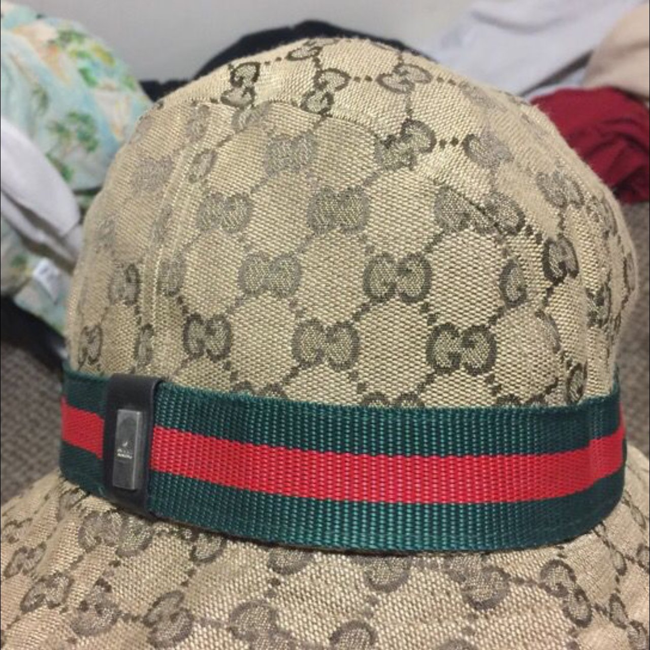 Insane Gucci Bucket Hat. In good condition for being as old - Depop 2eeac7e37bc