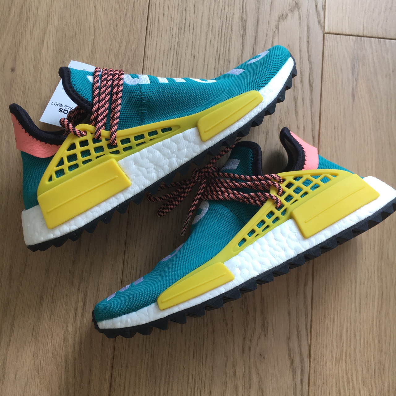 online store 2a162 8a10c Adidas Pharrell Williams Human Race NMD 'Clouds and ...