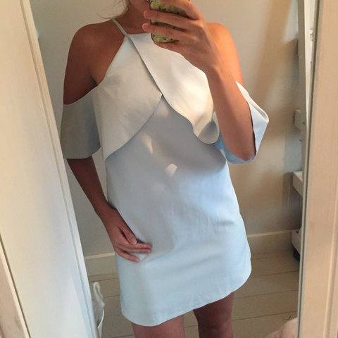 442bd4130cee @jenb872251. 2 months ago. London, United Kingdom. Asos pale blue off  shoulder dress new with tags RRP £50. Size 8