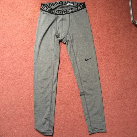 16c3203deade8f @mbr26. last year. Wiltshire, UK. Men's Nike pro dri fit leggings. Grey Full  length. Worn once. Size large ...