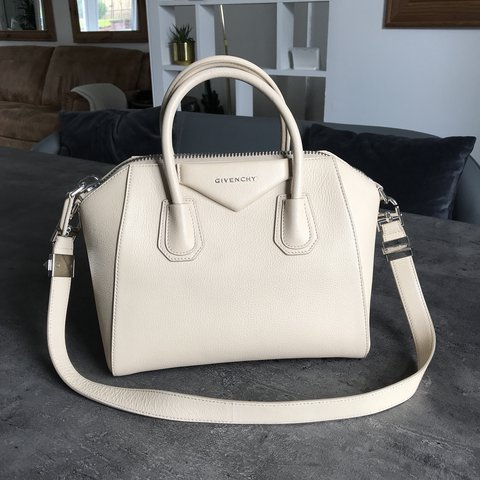 50a41374f7dc GIVENCHY Antigona bag in Ivory grained leather. This is the - Depop