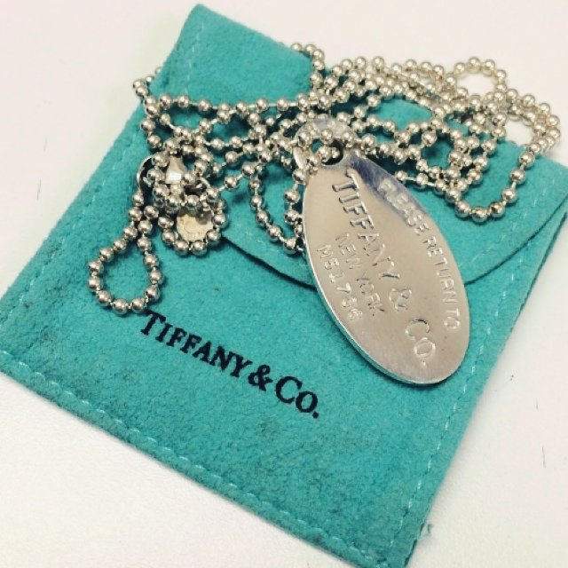 490e35df6 @kukulinaj. 5 years ago. Staten Island, NY, USA. RARE Tiffany & Co Dog Tag  Pendant necklace 25.9 grams, Sterling Silver, Preowned ...