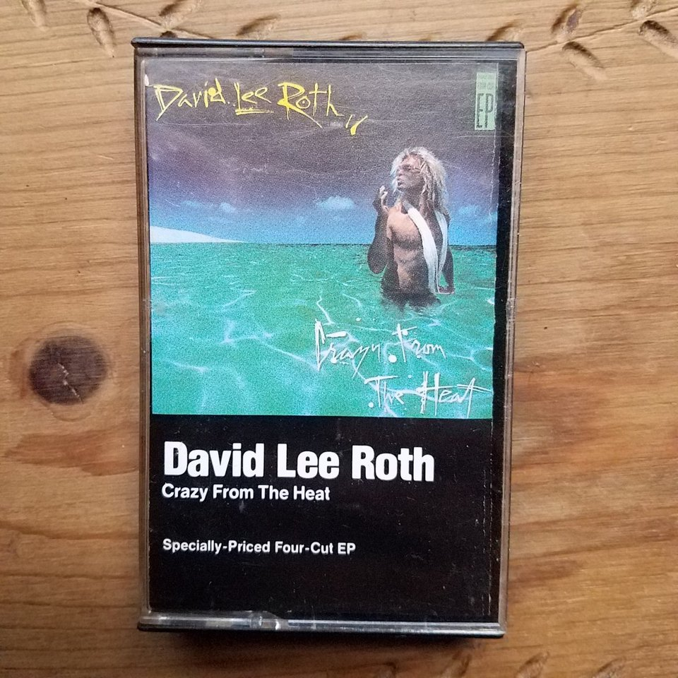 David Lee Roth Crazy From The Heat 4 Track Ep Depop