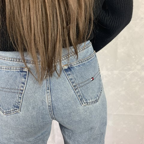d6ebf3bf @phobshop. 3 hours ago. Deal, United Kingdom. vintage tommy hilfiger  women's jeans with embroidered tommy flag ...