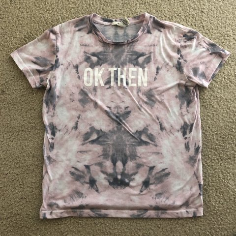 b78befe35 @sarah_greatorex. 11 months ago. Killeen, United States. forever 21  pink/grey tie dye t shirt. size medium