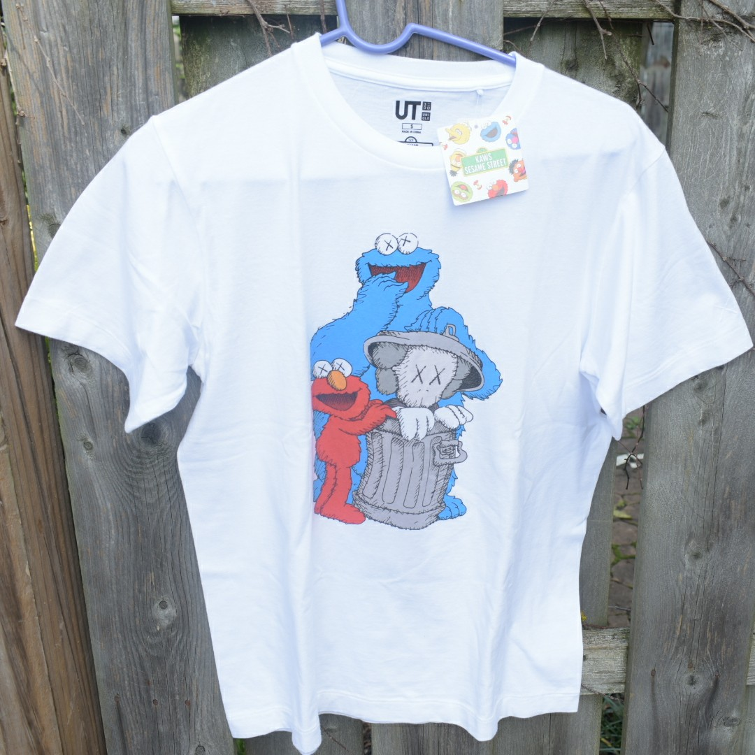 d79960ce8 Laws x Uniqlo sesame street collab Tee shirt in... - Depop