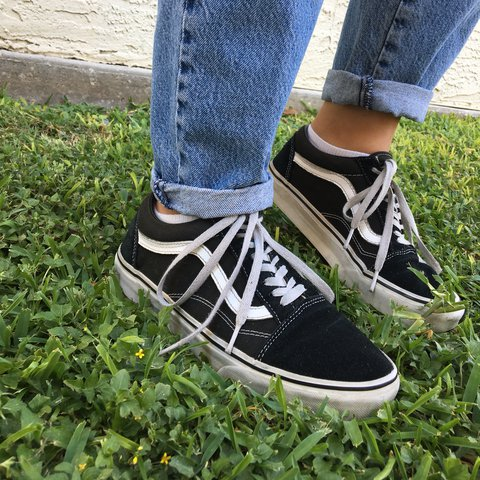 39956fd781 Shoes Shoes Shoes Skool Comfortable Vans•most And But Depop Old Black I I I  I White HdqAYg