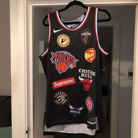 afa88fd7c55 @archiebrettle. 7 months ago. Bournemouth, United Kingdom. Supreme NBA X  Nike BasketBall Jersey Size L or 48