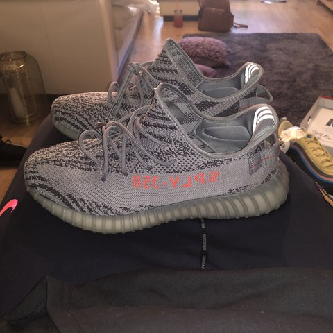 7467ffd33a285 Yeezy beluga 2.0 uk 12.5 no box used Also have zebra ds ds - Depop