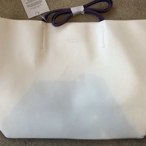 3dbc1782aa1e4 Calvin Klein fragrances tote bag. Brand new with tags. Any - Depop