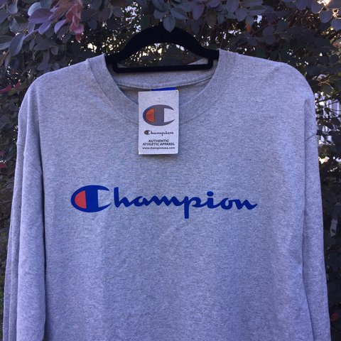 d4b9fc8f1 @rerackvtg. last year. Mobile, United States. Vintage Champion Spellout  Longsleeve ...