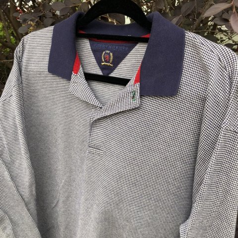 eae7fe59 @rerackvtg. last month. Mobile, United States. Vintage Tommy Hilfiger Long  Sleeve Polo Shirt