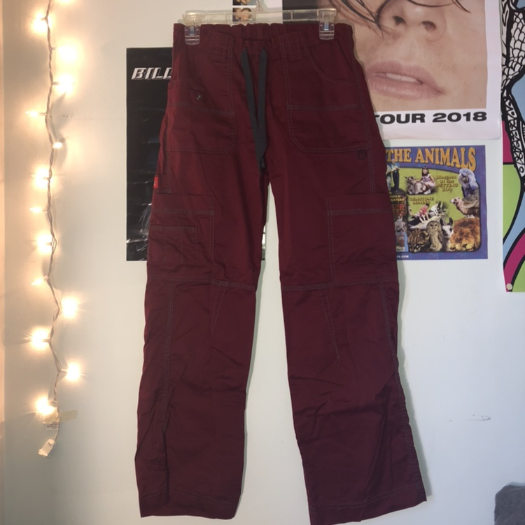 best online largest selection of 2019 quality and quantity assured ugh maroon dickies cargo pants for the LO these... - Depop