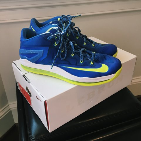 6c6785eda2a52 NIKE Lebron Zoom Soldier VII with box. Size: 10.5. 9/10. As - Depop