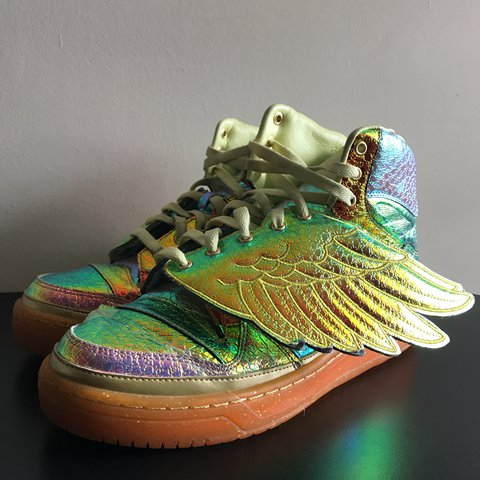 more photos 3452a 8fdb2  nappsss. 11 months ago. Greenville, United States. Adidas Jeremy Scott  wings