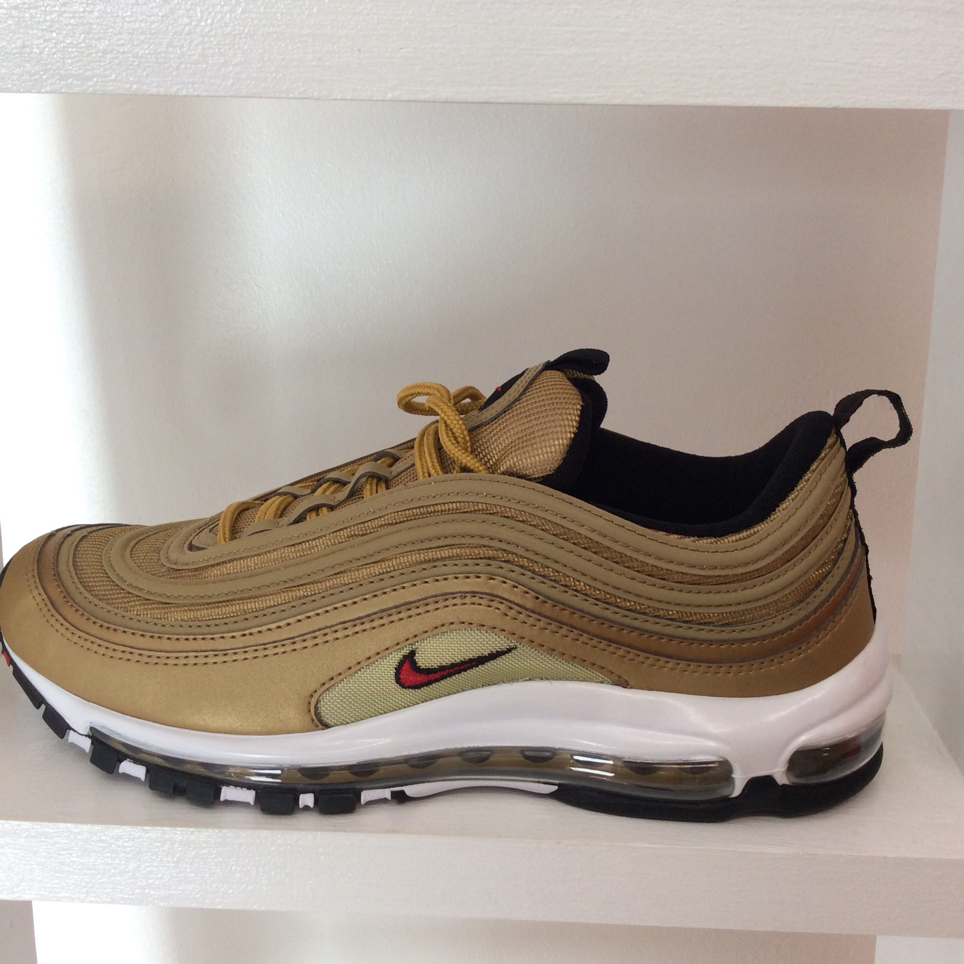 Womens Nike Air Max 97 Cool Grey Wolf Grey Uk Size 7 Scelf