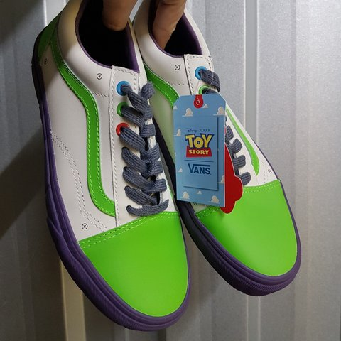 VANS LIMITED EDITION OLD SKOOL TOY STORY: BUZZ Depop
