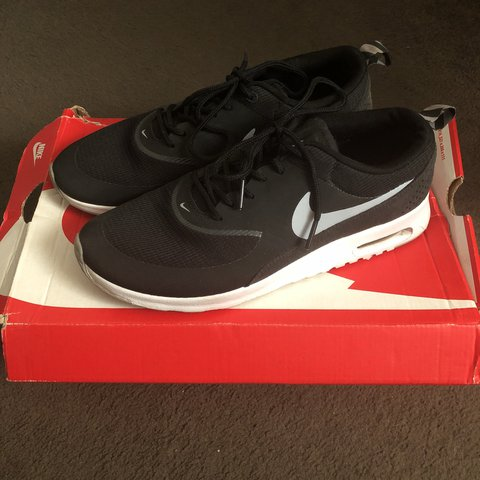Wmns Nike Air Max Thea Black Wolf Grey Anthracite White | Footshop