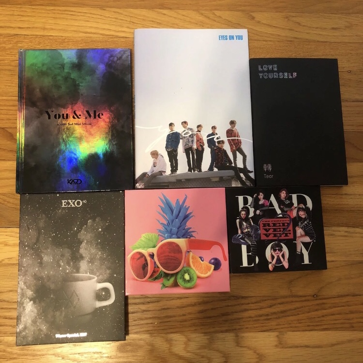 Kpop Albums Lot Bundle - KARD You & Me Album NO    - Depop