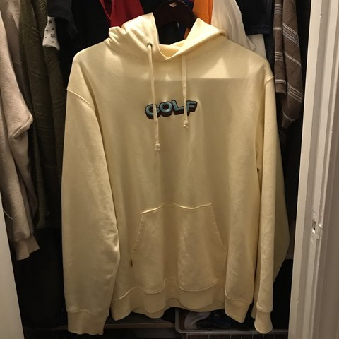 214e434c1137 ON HOLD FOR  reviolo PLS DONT BUY! - cream colorway golfwang - Depop