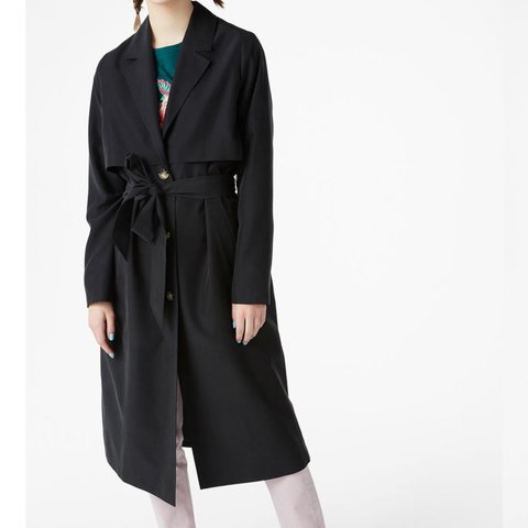 6341829a @robingrace. 8 months ago. Wirral, United Kingdom. NOW SOLD Monki soft  trench coat ...