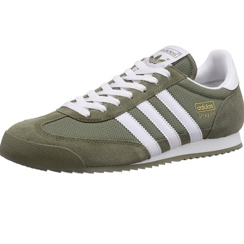 4405a6c1f61c Adidas dragon green shoes size 11 men. - Depop