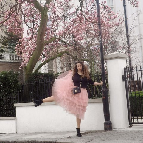 981ae0a1bb @sammy18131. last month. London, United Kingdom. Gorgeous pink tulle skirt  ...