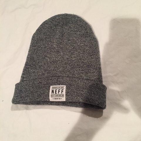 5692286c2a9 ☁️NEFF grey speckled beanie