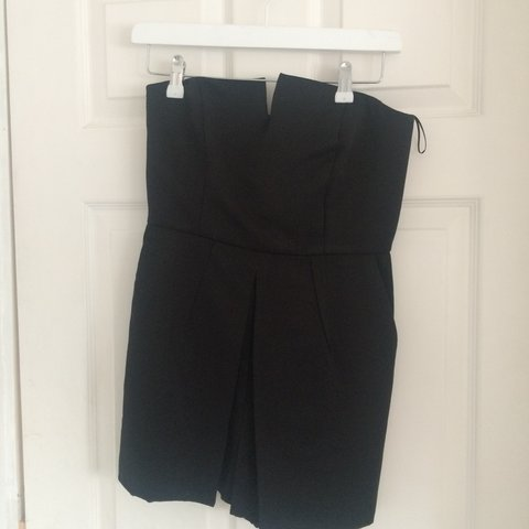 59bd0b45d2 Topshop playsuit. Worn twice. Cost £45. Black sleeveless £13 - Depop