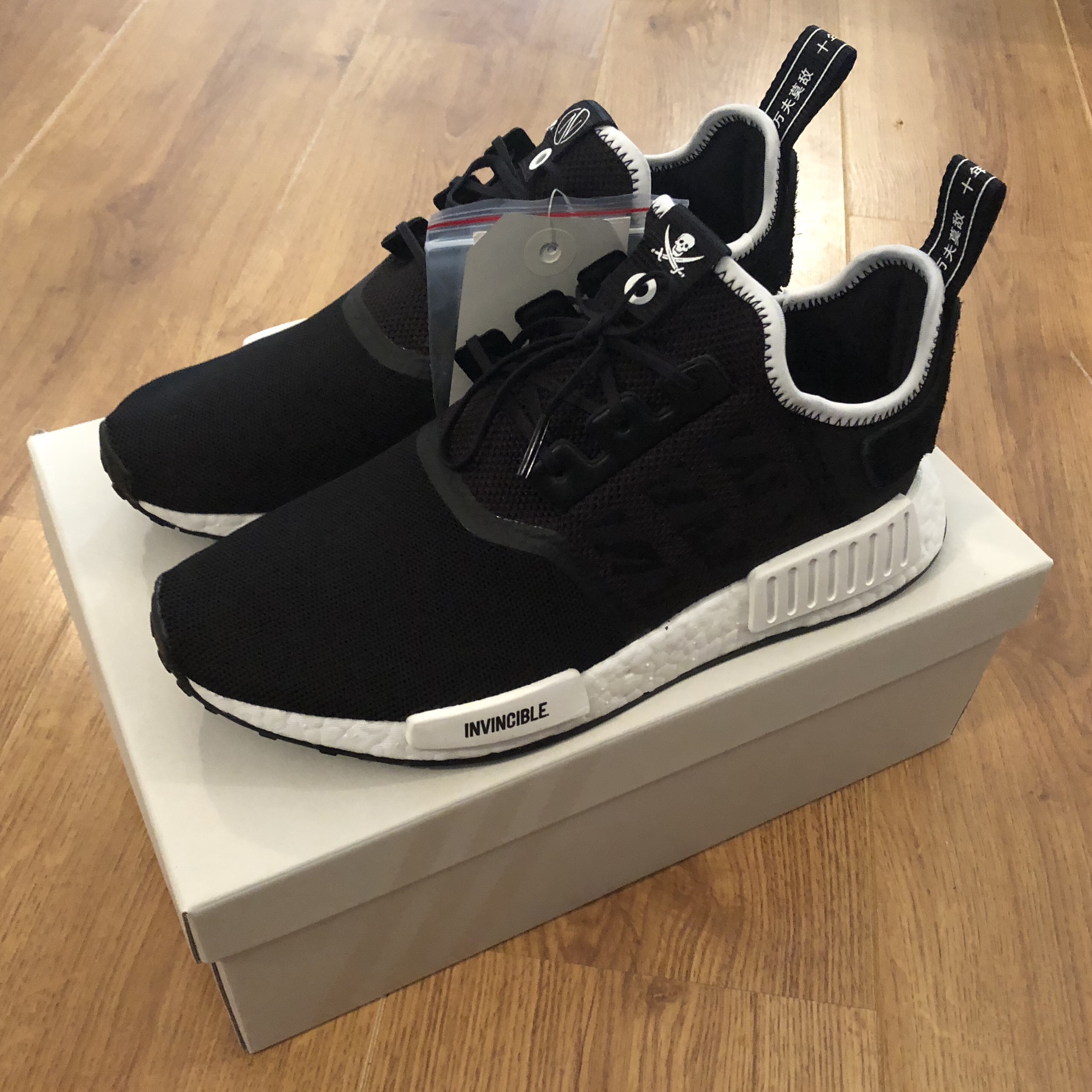 Adidas NMD R1 x invincible x neighborhood Super Depop