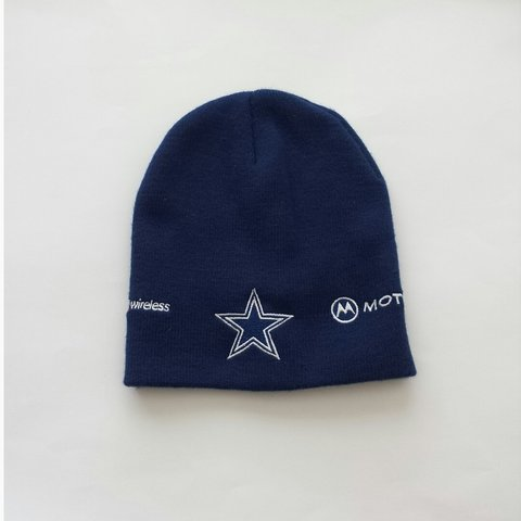 143ea7baabc4d Dallas Cowboys beanie   cap. Great to cover braids or a bald - Depop