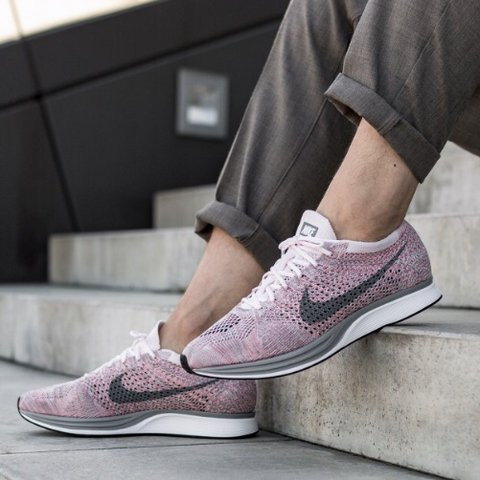 7ff12fc2beea  dancingflowers. 5 months ago. United States. Nike Flyknit Racers - Pearl  Pink Cool Grey Bright Melon