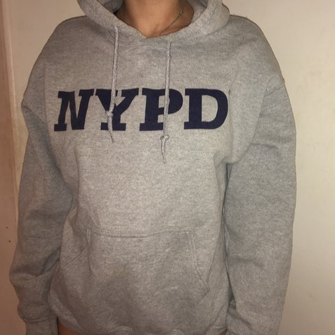 5e1df984a @ursyburke. last year. Sheffield, United Kingdom. oversized grey topshop  hoodie- NYPD