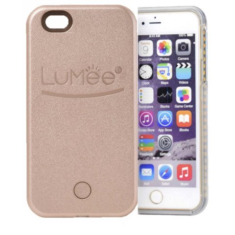 1ee171d370 @itsgabriellaa. last year. Ontario, United States. Rose Gold Lumee light up  selfie case for iphone 6 plus!!